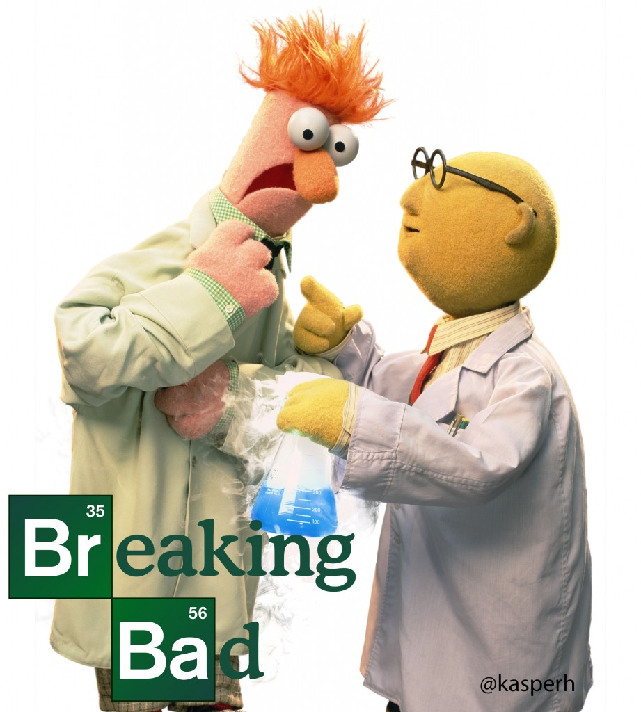 Breaking Beaker & Bunsen